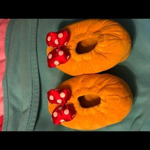 Minnie Mouse Slippers from Disneyland
